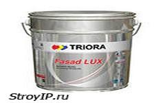 Фасадная  краска Fasad Lux  торговой марки «TRIORA»