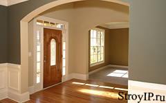 Дизайн прихожей на основе входной двери. Фэн-шуй в помощь.