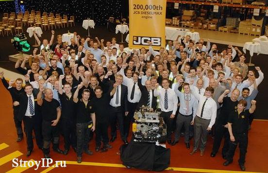 Концерн JCB начинает выпуск машин c двигателями стандрта Stage IIIB