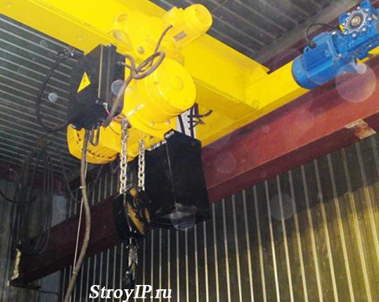 Тельфер электрический 1т - оборудование для оптимизации работы склада