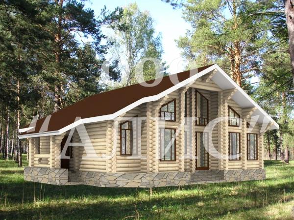 Готовые Проекты Деревянных Домов Из Оцилиндрованного Бревна