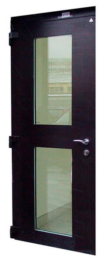 металлические двери с бронированными стеклами