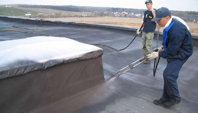 Бассейнов теплоизоляция потолков