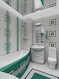 Дизайн плитки в ванной комнате маленькой самому